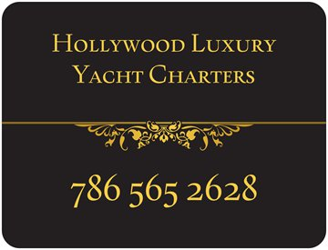 Hollywood Luxury Yacht Charters